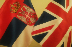 flags uk serbia