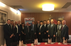 Greg Hands meets British businesses in Taiwan