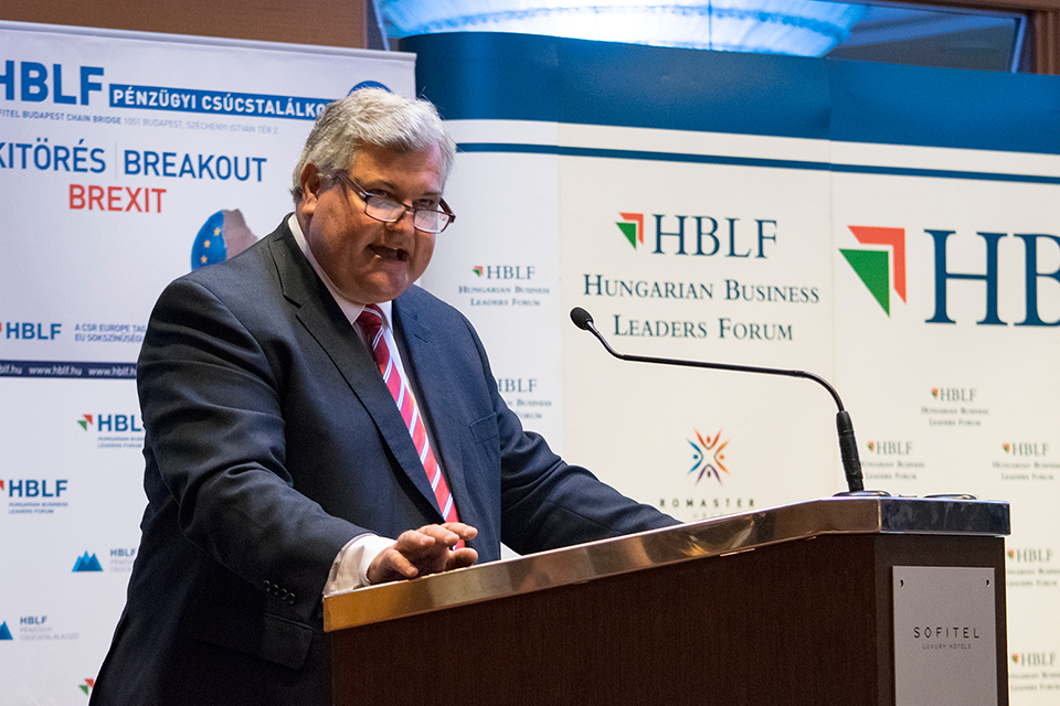 Lord Price's speech to the Hungarian Business Leaders' Forum
