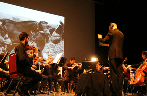 Memorial University Chamber Orchestra performs during The Battle of the Somme