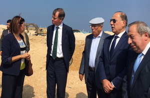 Ambassador Shorter at Tripoli's Economic Zone