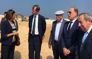 British Ambassador at Tripoli's Economic Zone