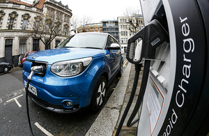 Electric vehicle chargepoint.
