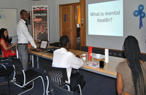 Dr Nolbert  Gumisiriza talks about mental health issues