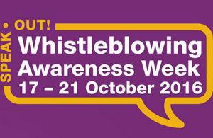 Whistleblowing Awareness Week logo