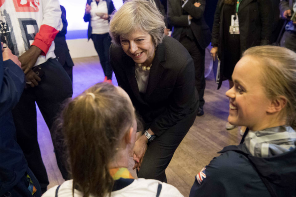 PM at Team GB & Paralympics GB athletes reception