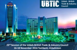 В Ташкенте пройдет заседание Узбекско-Британского Совета по торговле и промышленности