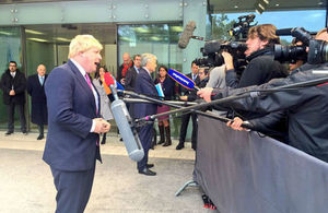 Foreign Secretary at Foreign Affairs Council