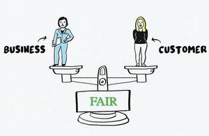 Unfair terms illustration