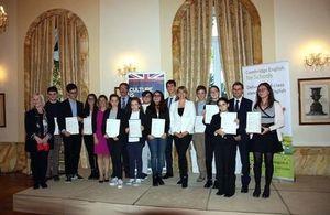 I vincitori della Kangourou per l'inglese 2016