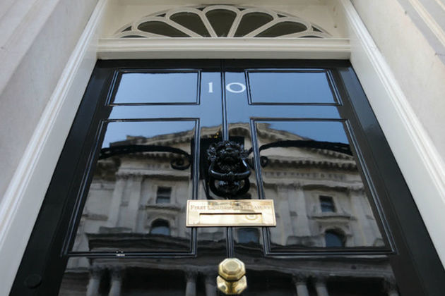 The door of Number 10