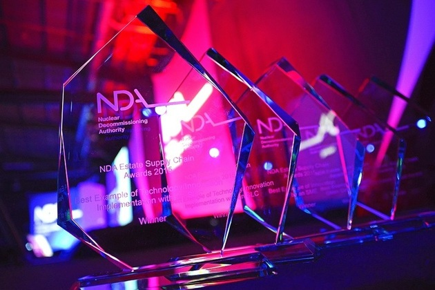 Trophies for NDA estate supply chain awards