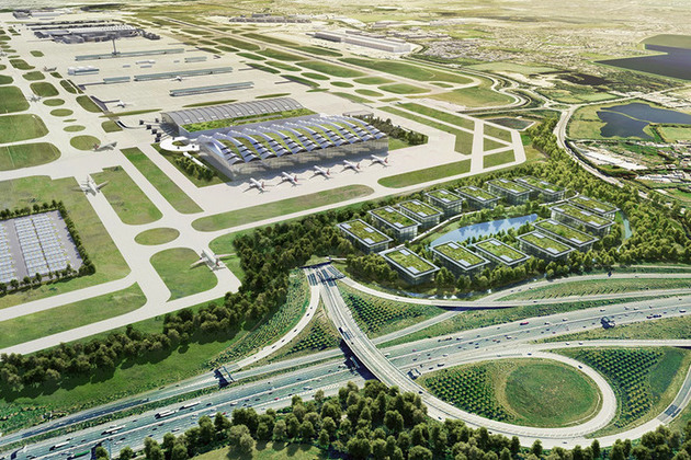 Heathrow Airport expansion.