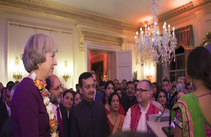 Prime Minister hosts 2016 Diwali reception