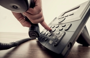 Helpline telephone, Istock/Copyright Gajus