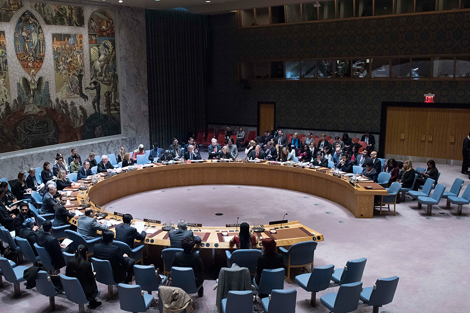 UK takes part in open debate on women, peace and security in the UN Security Council