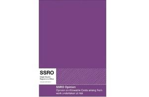 SSRO Opinion October 2016 front cover