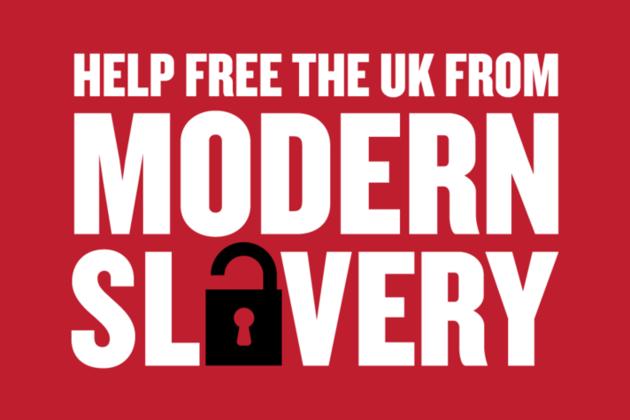 Modern slavery logo