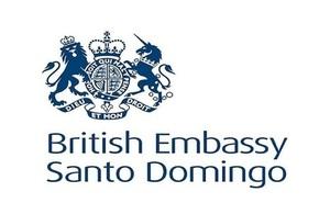 Logo de la Embajada Británica en Santo Domingo