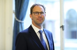Minister for the Middle East Tobias Ellwood