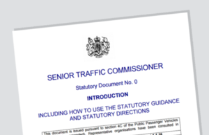 Senior Traffic Commissioner's statutory guidance and statutory directions