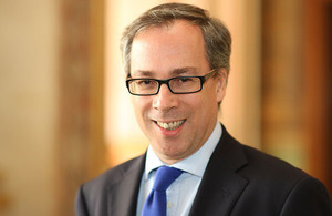 Lord Edward Llewellyn becomes Her Majesty's Ambassador to France