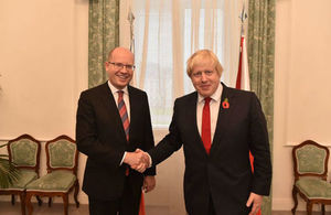 Foreign Secretary and Czech PM