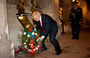 FM Boris Johnson