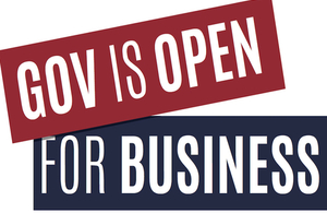 gov is open for business