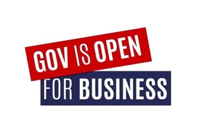 Government is Open For Business