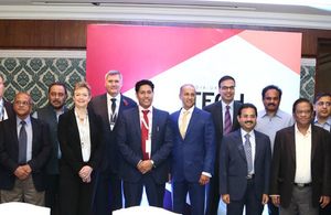 Participants of the IUIH roundtable which took place during the PM's trade mission to India