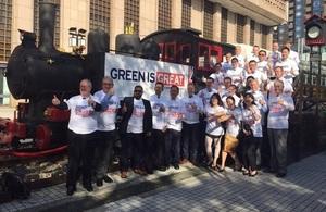 UK Sustainable Railway Mission visits Taipei