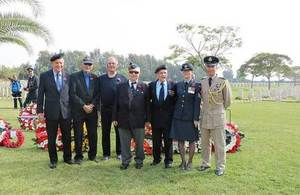 British Embassy Israel holds Remembrance Day ceremony.