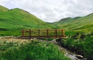 Fusedale Bridge in Martindale, Lake District National Park