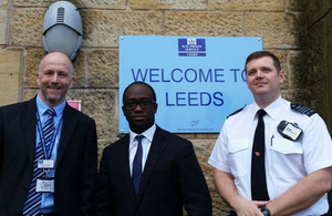 Sam Gyimah at HMP Leeds