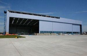 A400M aircraft hanger