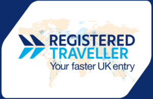 Registered traveller logo.
