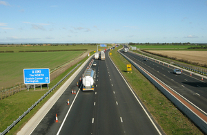 A1 in Yorkshire