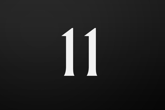 Number 11 door icon.