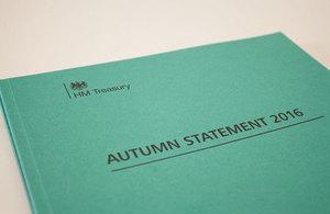 Le chancelier de l'Echiquier prononce le discours d'automne
