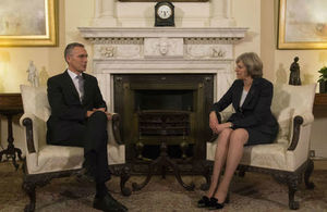 Prime Minister Theresa May and NATO Secretary General Jens Stoltenberg