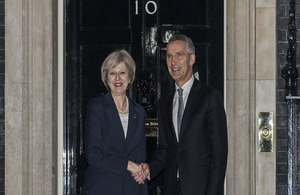 PM and NATO Secretary General Jens Stoltenberg