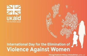 DFID support to world leader in tackling violence against women and girls