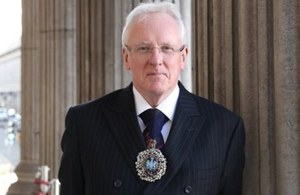 The Lord Mayor of the City of London, Andrew Parmley