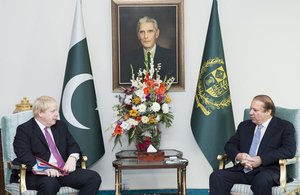 Foreign Secretary's first visit to Pakistan