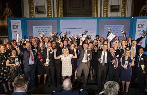 Civil Service Award winners 2016