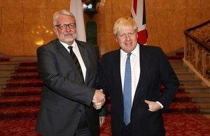 Boris Johnson Foreign Minister Witold Waszczykowksi
