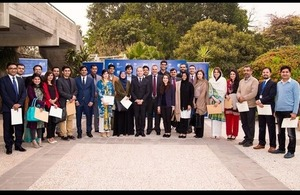 British High Commissioner hosts a reception event for returning Chevening scholars