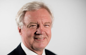 Profile picture of David Davis, Secretary of State for Exiting the European Union
