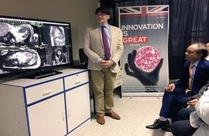 La Embajada Británica presentó tecnología que detectará miocardiopatías en sólo 25 minutos